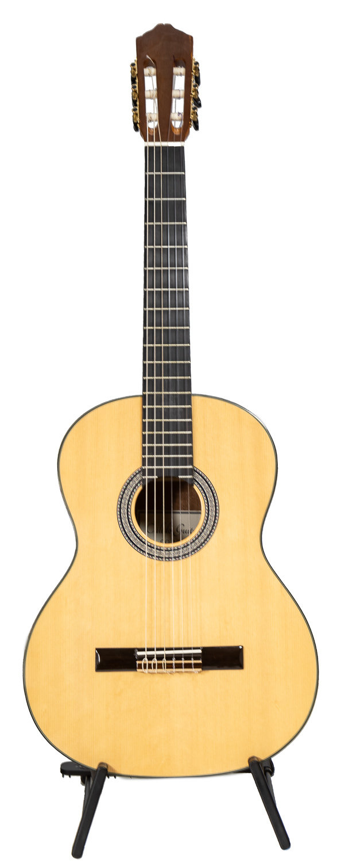 Calido CG 1210 Classical Guitar - Solid Spruce top, Ebony fretboard, Mahogany back/sides
