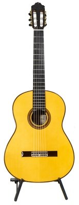 Estevé Manuel Adalid - Professional Level Flamenco Negra - All Solid wood - Spruce top, Madagascar Rosewood back/sides, Handcrafted in Valencia, Spain
