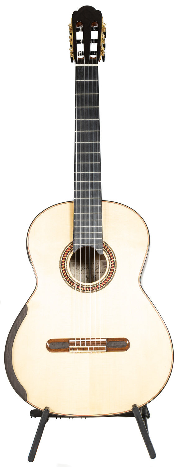 Chamber Concert by Yulong Guo - Spruce Double Top, Pau Ferro Back/Sides - 640mm Scale Length - Serial # 18-100