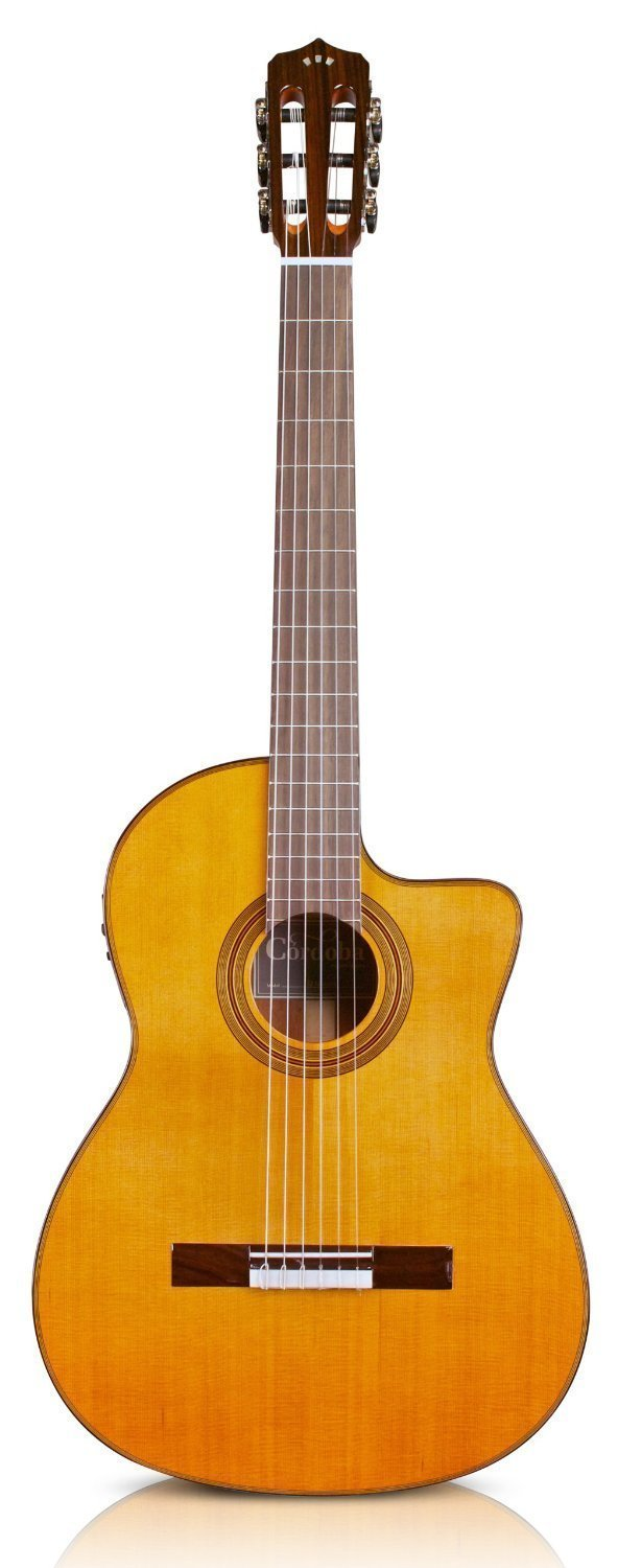 Cordoba Fusion 12 Natural - Solid Cedar Top - Acoustic Electric Nylon String Classical Guitar