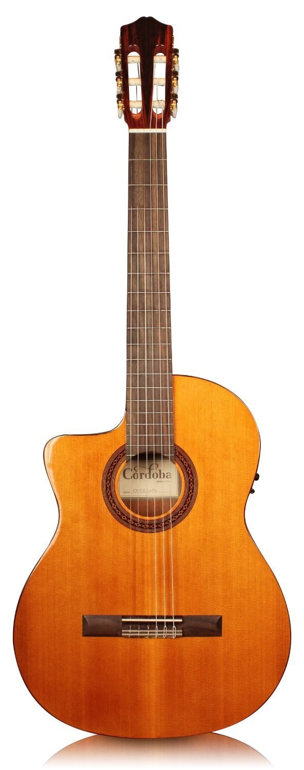 Cordoba C5-CE - Lefty - Acoustic Electric Nylon String Guitar