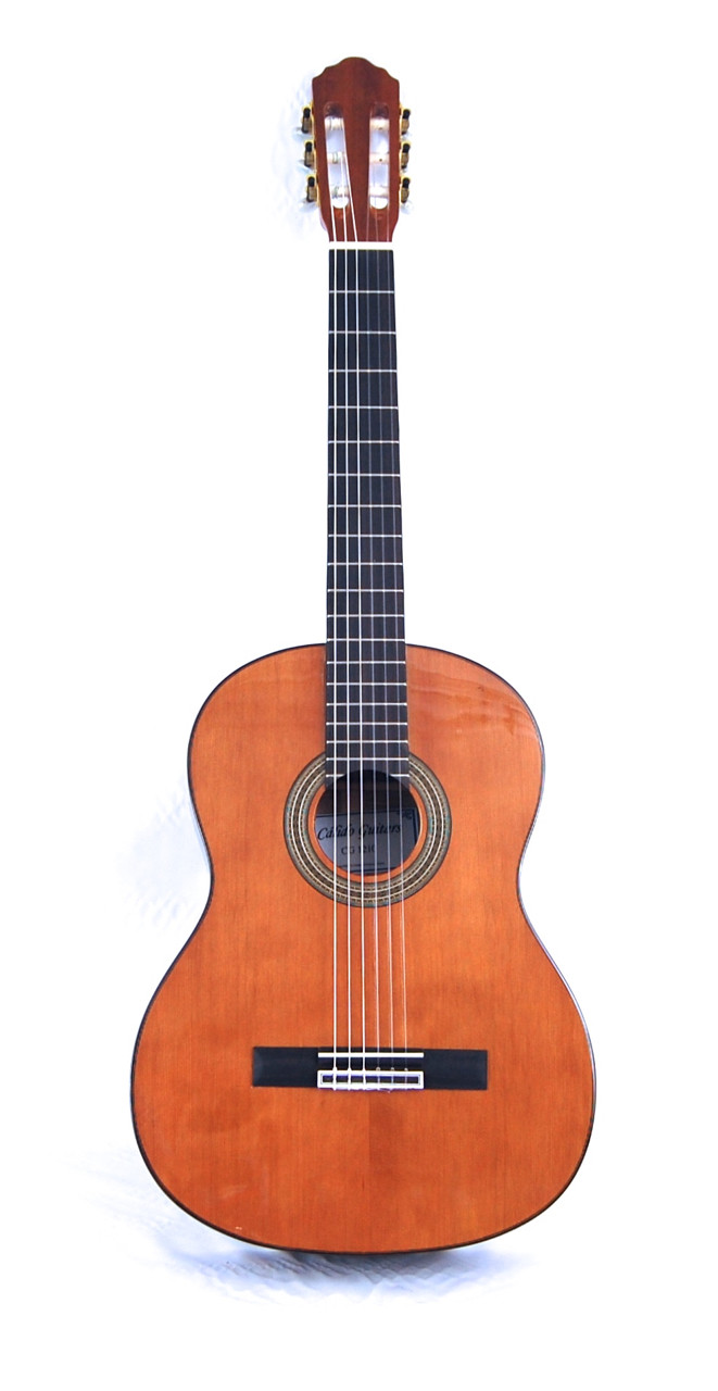 Calido CG 1210 Classical Guitar - Solid Cedar top, Ebony fretboard, Mahogany back/sides