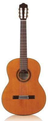 Cordoba C7 - Solid Cedar Top - Indian Rosewood Back/Sides - Nylon String Classical Guitar with Cordoba Digital Tuner and Cordoba Deluxe Gig Bag