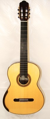 Chamber Concert by Yulong Guo - 2020 Spruce Double Top, Indian Rosewood Back/Sides - 650mm Scale Length