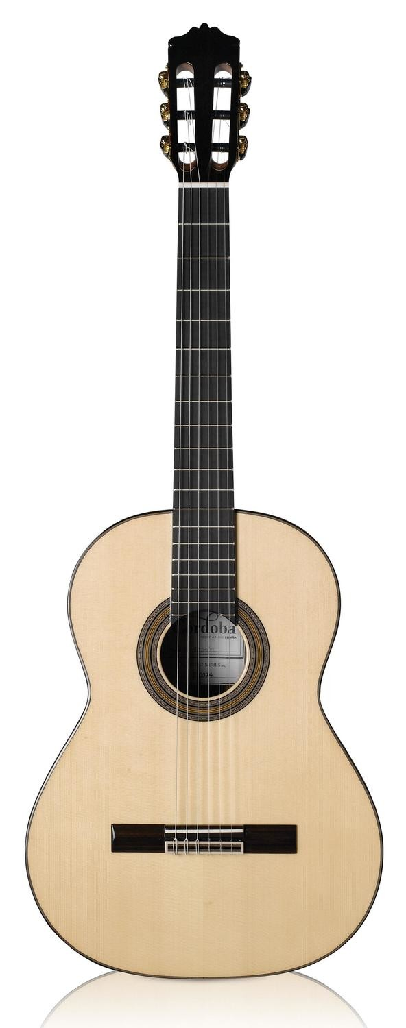 Cordoba Solista - All Solid Wood Nylon String Classical Guitar - Solid Spruce Top, Solid Indian Rosewood Back/Sides