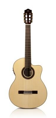 Cordoba GK Studio Negra - Gypsy King Signature Acoustic Electric Flamenco Guitar