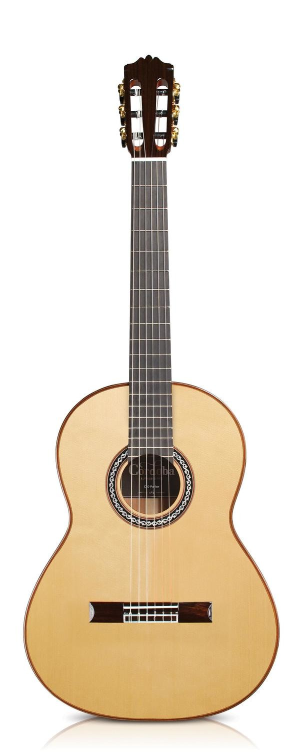 Cordoba C10 Parlor - Solid Spruce Top - Parlor (⅞ Size) Nylon String Classical Guitar