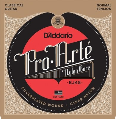 D'Addario EJ45 - Classical Guitar Strings - Normal Tension