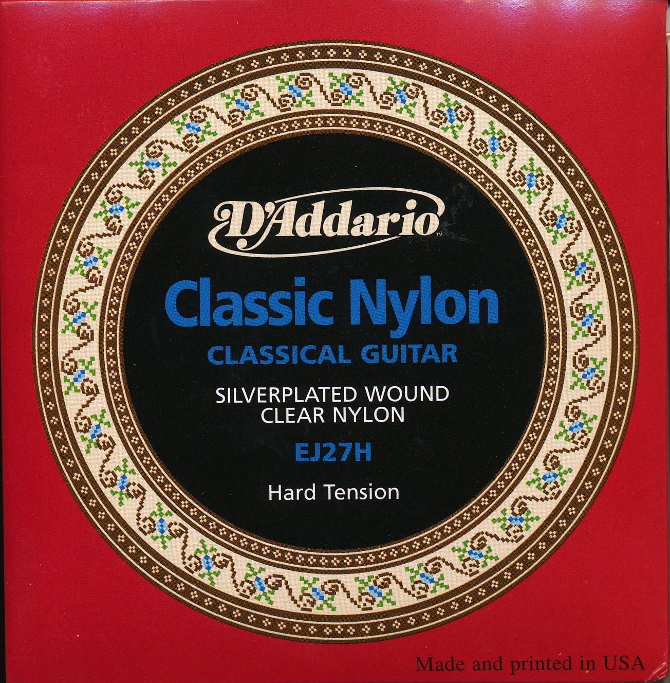 D'Addario Classic Nylon - Student Level Classical Guitar Strings