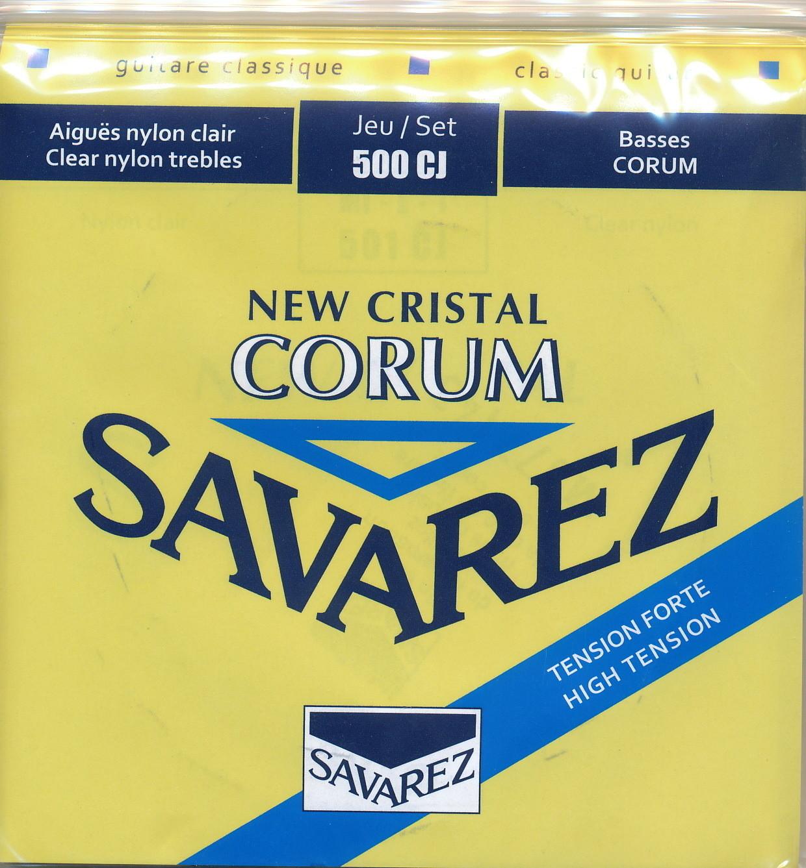 Savarez 500CJ Corum, New Cristal - Classical Guitar Strings