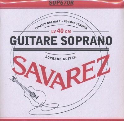 Soprano Guitar Strings - Set of 6 - Savarez 670R