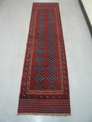 Afghan Tribal Kelim Runner 8'2
