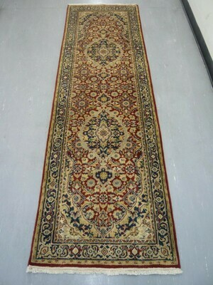 Indian Chakhari Runner 8' Red/Blue