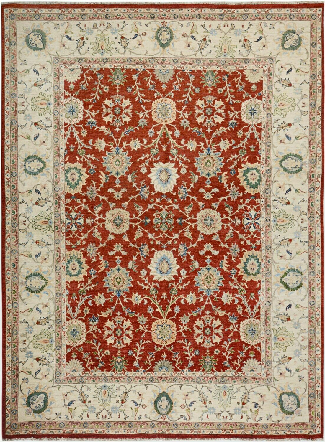 Fine Afghan Natural Dyed Rug