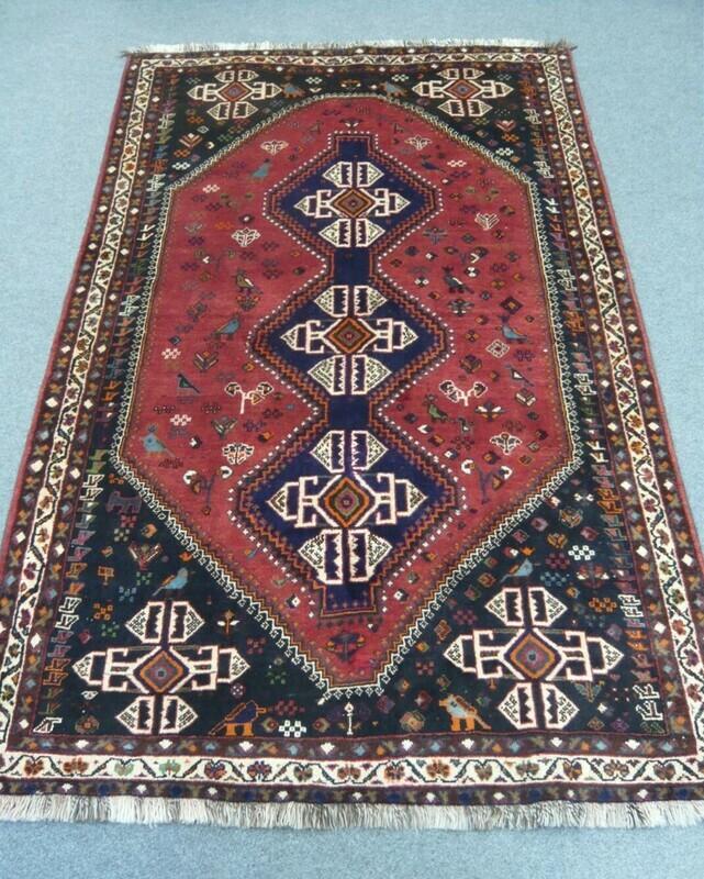Fine Persian Tribal Rug