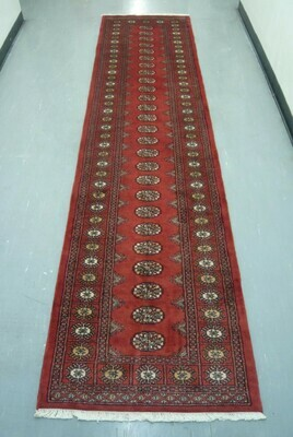 Pakistan Bokhara Runner 11' Red