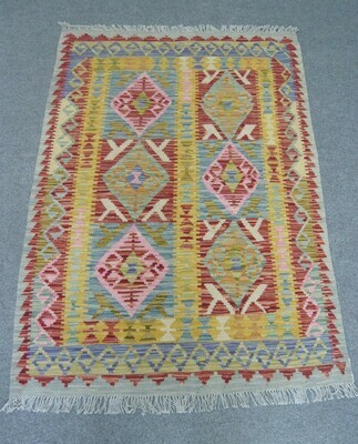 Natural Dyed Kilim Sold.