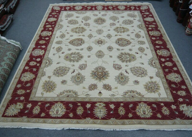 Indian Natural Dyed Rug Half Price
