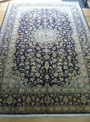 Fine Persian Keshan Rug Blue