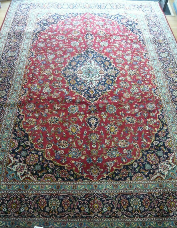 Fine Persian Keshan Rug Sold.