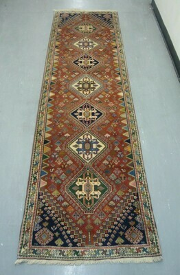 Fine Persian Tribal Runner 9'2