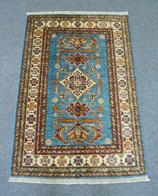 Fine Afghan Rug Blue Sold.