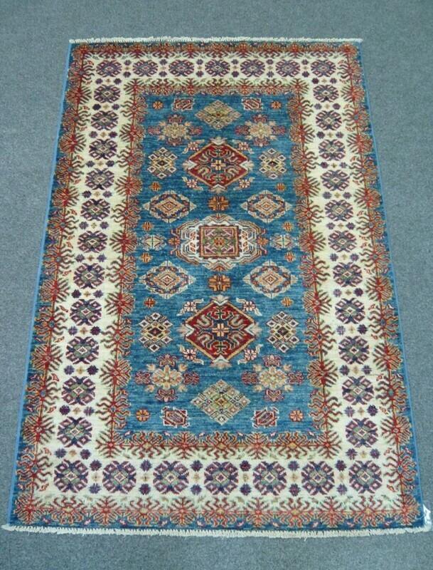 Fine Afghan Rug Blue