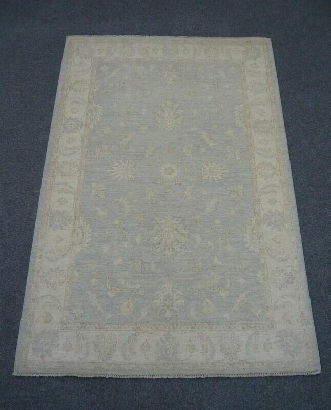 Fine Afghan Silverwash Rug