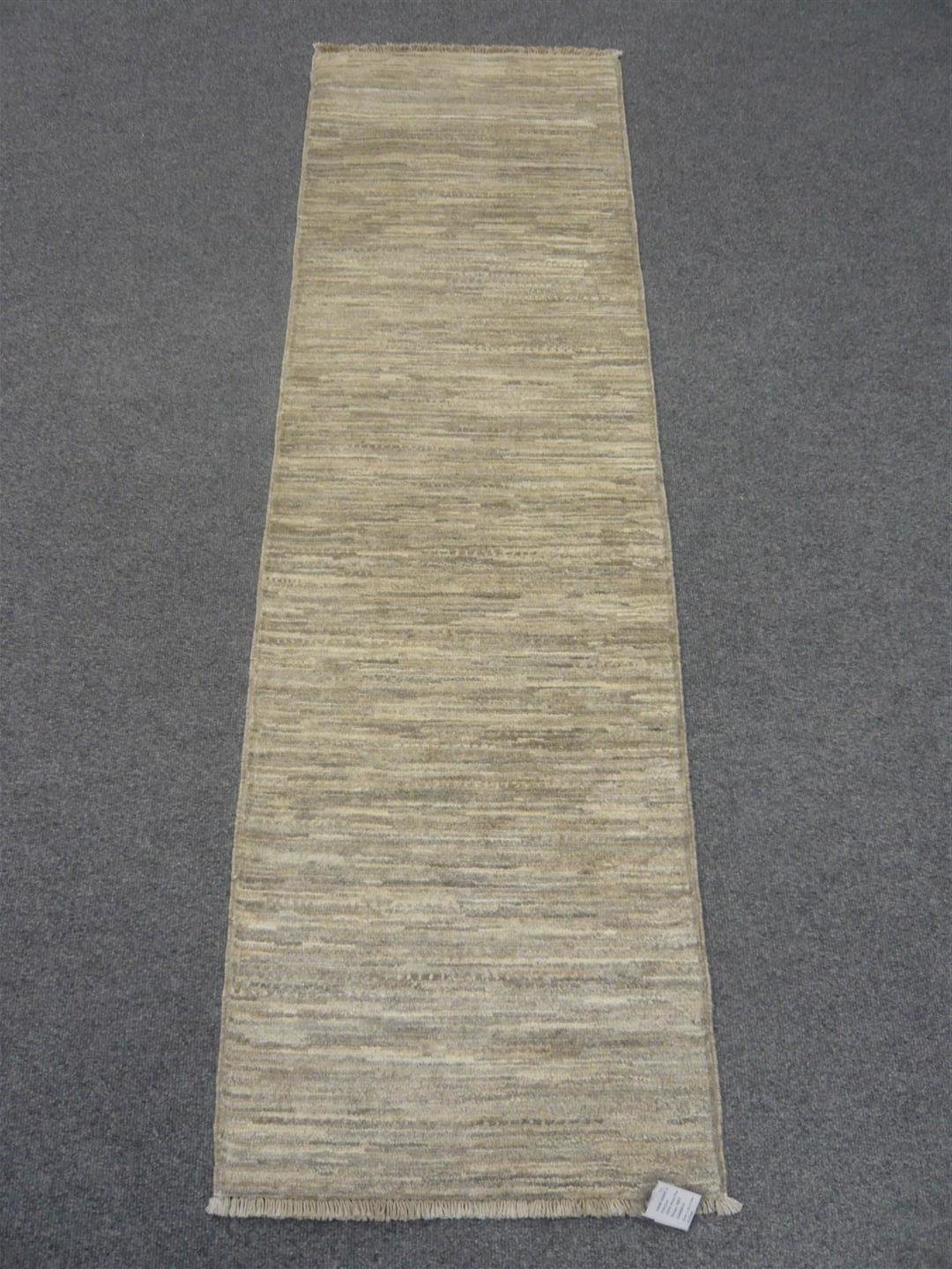 Pakistan Natural Dyed Runner Grey. NOW HALF PRICE.