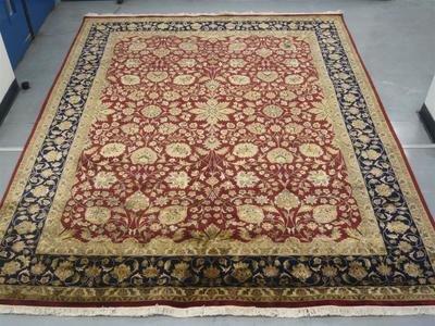 Very Fine Indian Wool/Silk Rug