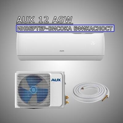 AUX 12 ASW(+PM 2.5 Филтер) - H12F4/FCRI High Efficiency