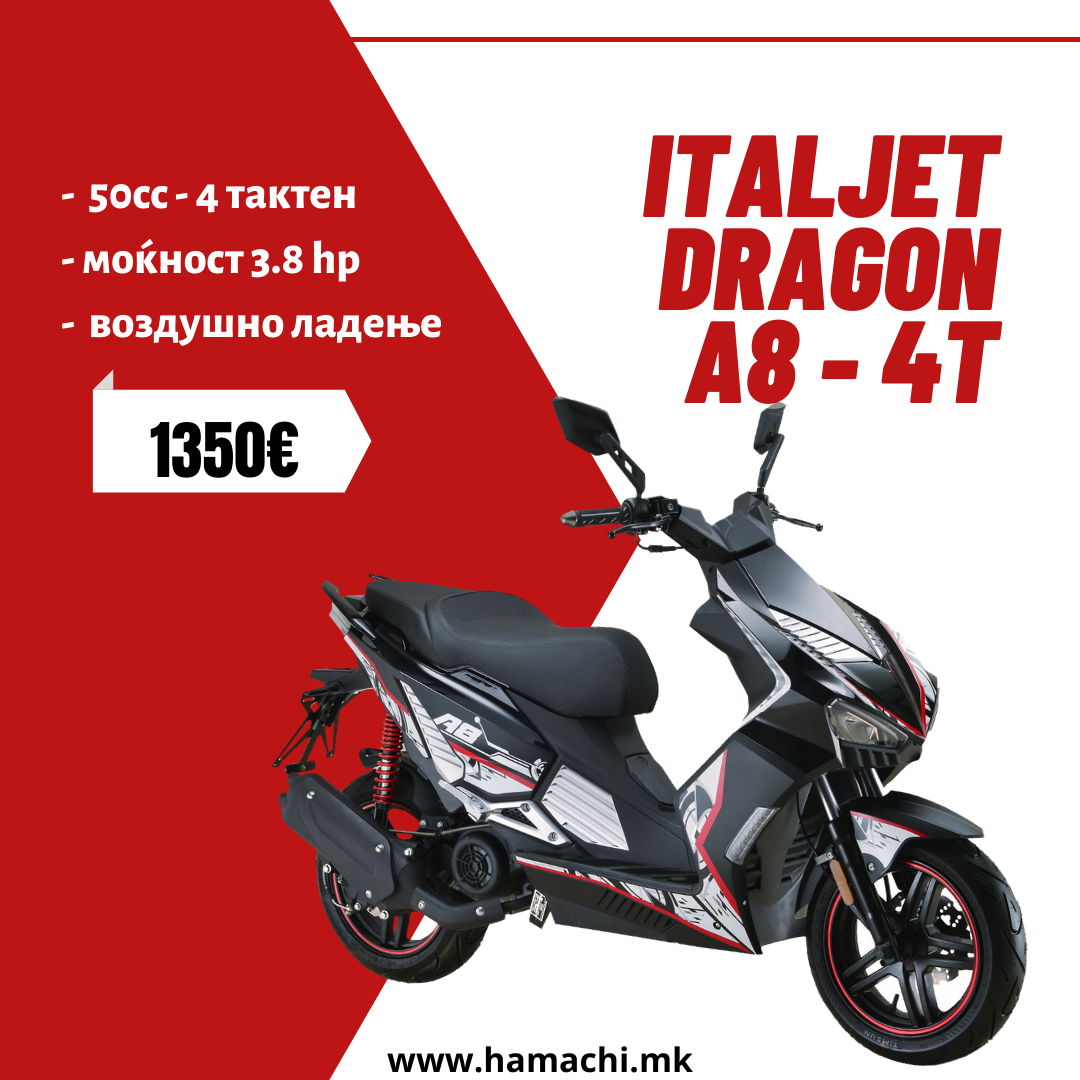 ITALJET DRAGON - A8 - 4T