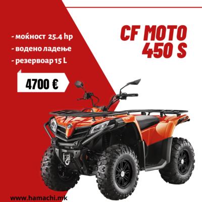 CF MOTO 450 S
