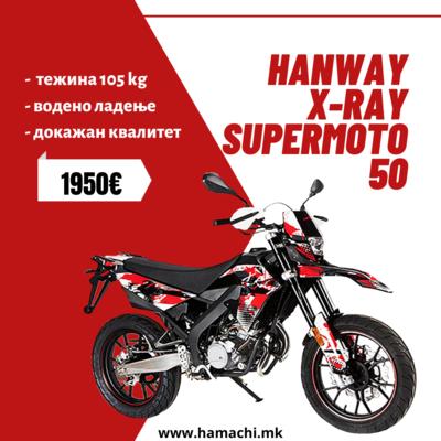 HANWAY X-RAY SUPERMOTO 50