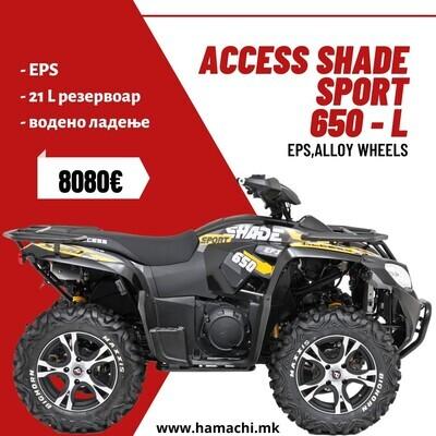 ACCESS SHADE SPORT 650 - L (EPS, ALLOY WHEELS)
