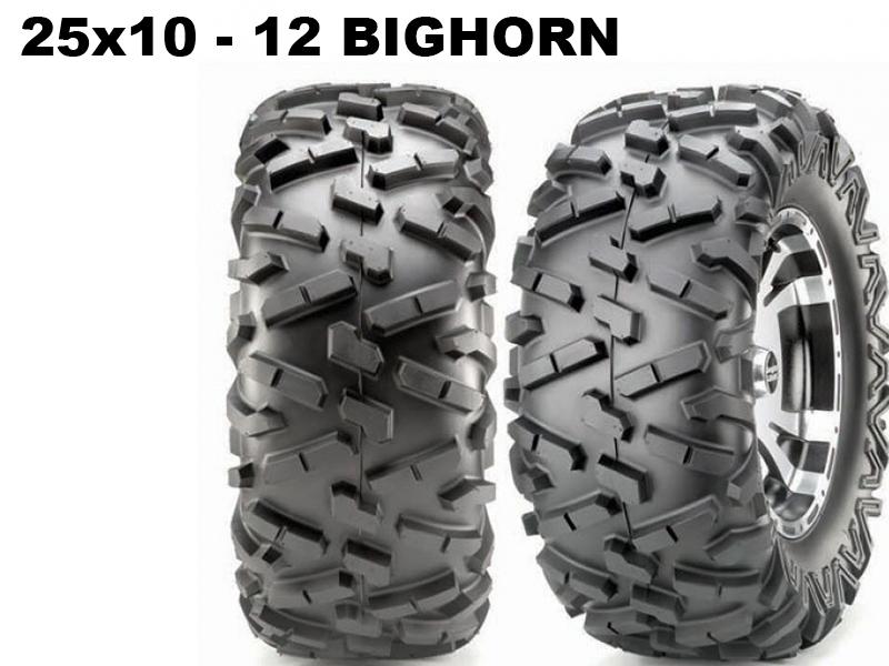 Maxxis ATV 25x10 - 12 Bighorn