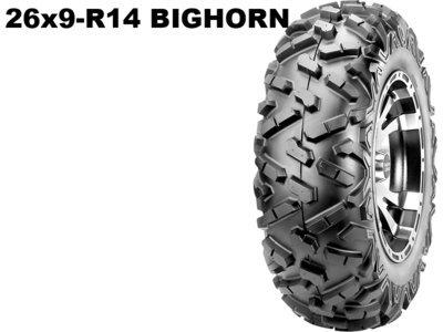 Maxxis ATV 26x9 - R14  Bighorn