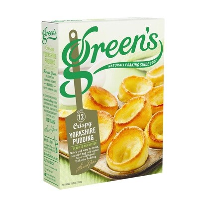 Green's Batter/Yorkshire Pudding Mix 125g