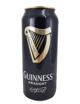Guinness Draught 440ml Can (4 Pack) (Best Before Feb '20)