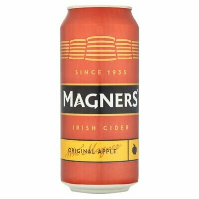 Magners Irish Cider 440ml Can 4.5% Alc (4 Pack) ( BBE Jun '20)