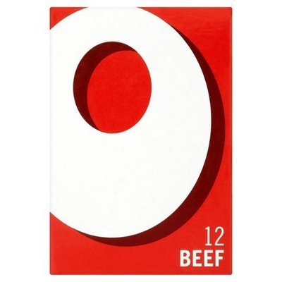 Oxo Beef Stock Cubes 12s