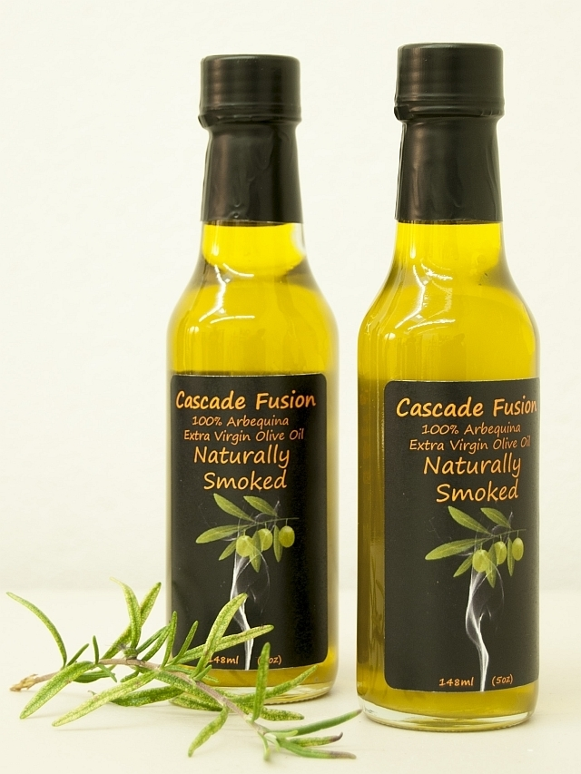 """Smoked Olive Oil, 148ml """"Woozie"""""""