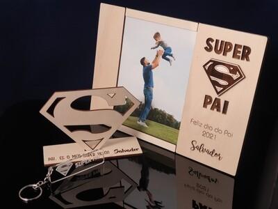 Molduras personalizadas com foto para ocasiões especiais (corte laser)