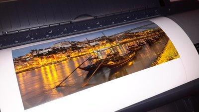 Impressão fotográfica de grande formato