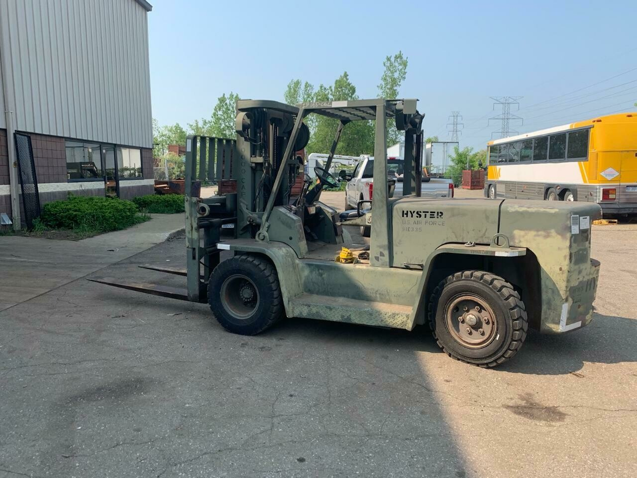 15,500lb Hyster H155XL Forklift For Sale 7.75 Ton