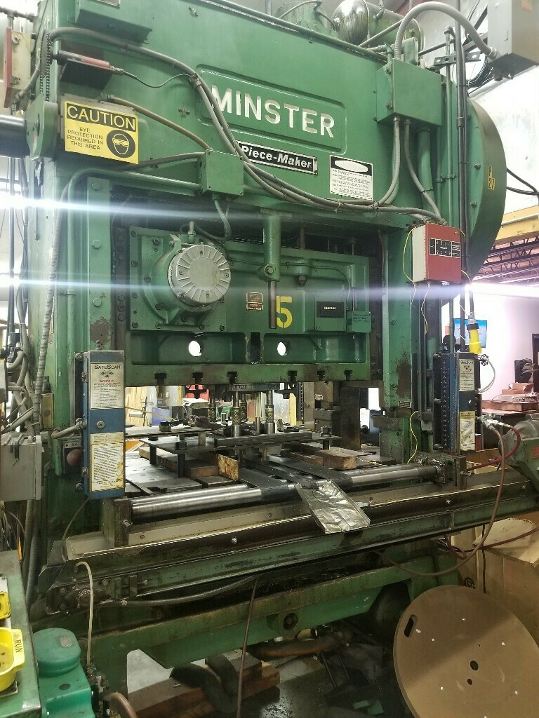 100 Ton Press For Sale Minster P2-100 Straight Side Press