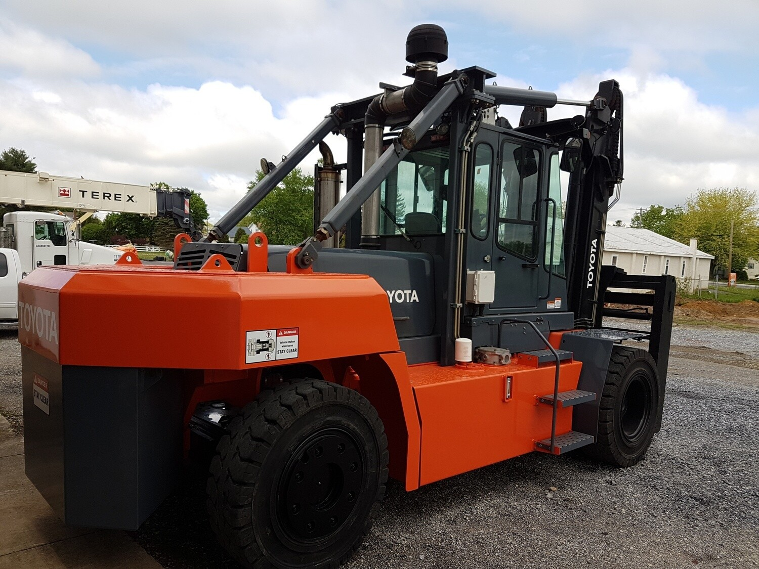 18 Ton Toyota THD3600-48 Forklift For Sale