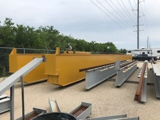30 Ton Capacity PHD Overhead Bridge Crane For Sale