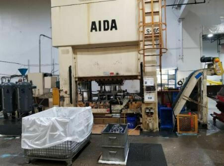 330 Ton Press For Sale Aida Straight Side Press