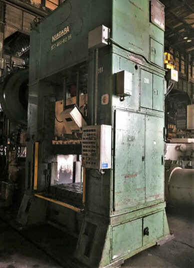 200 Ton Press For Sale Niagara Straight Side Press